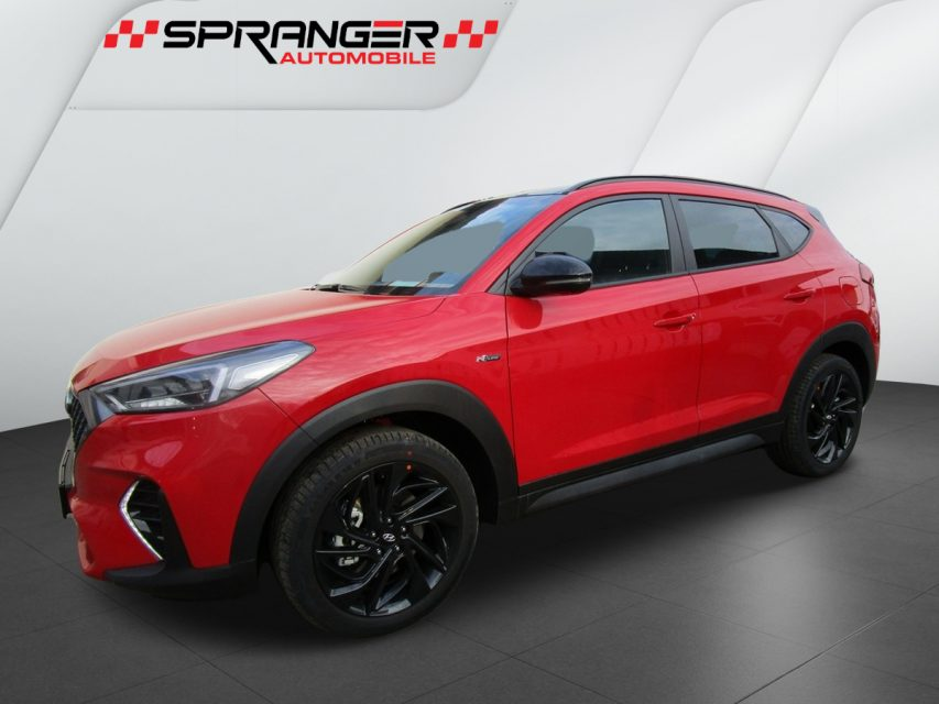 Hyundai Tucson 4WD N-Line, DCT, Neuwagen EU 185 PS, Engine Red, 35.999,- €